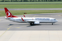 #4442 Turkish Airlines - Boeing 737-8F2 (TC-JGD)