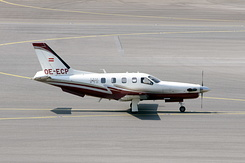 #4443 Canberra Packard Central Europe - Socata TBM-850 (OE-ECP)