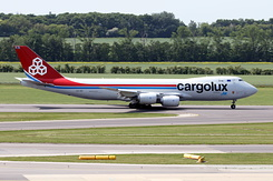 #4445 Cargolux Airlines International - Boeing 747-8R7F (LX-VCI)