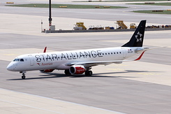 #4446 Austrian Airlines (Star Alliance) - Embraer 195LR (OE-LWH)