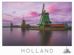 #4499 Postcard  NL-4004218 sent to the United States of America