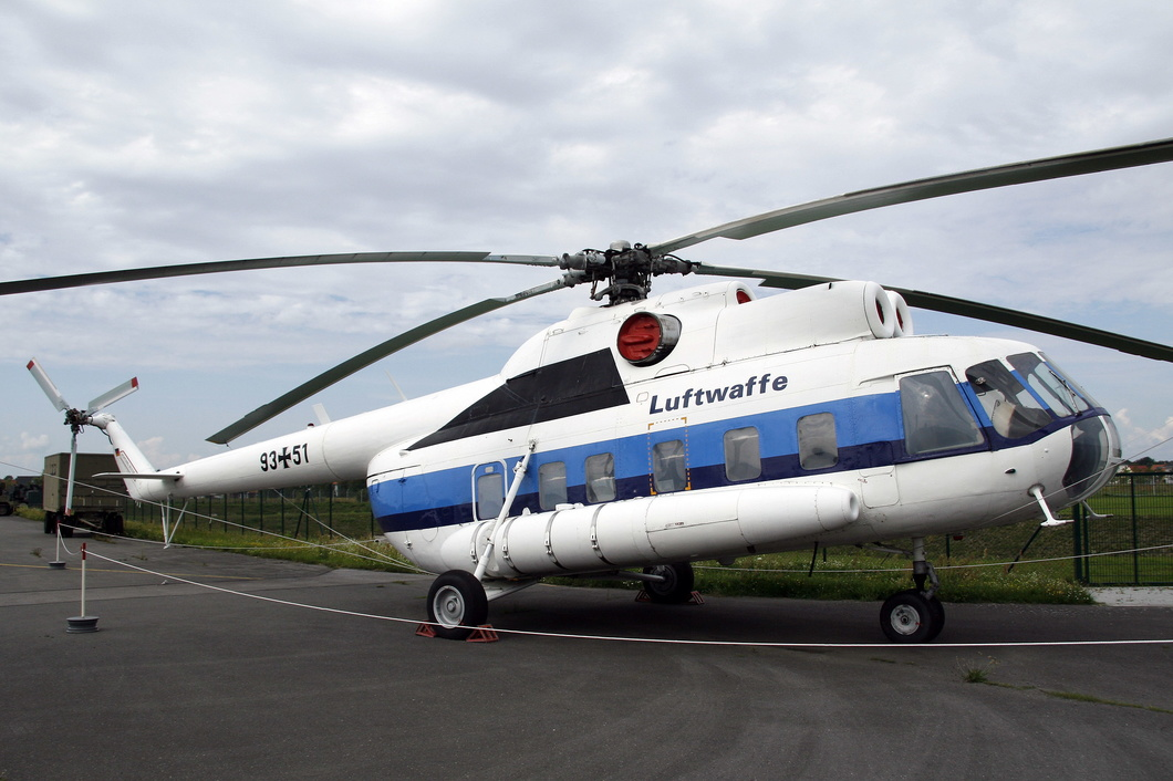 20110727-001 German Air Force - Mil Mi-8S Hip (9351) Luftwaffenmuseum DE.jpg