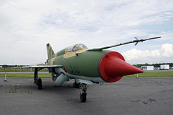 #4613 East German Air Force - Mikoyan-Gurevich MiG-21M Fishbed-J (596)