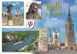 #4661 Postcard DE-7138154 received from Germany