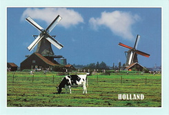 #4669 Postcard NL-4087242 sent to the United States of America