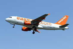 #4816 EasyJet Airline - Airbus A319-111 (G-EZAF)