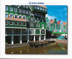 #4940 Postcard NL-4103404 sent to the United States of America