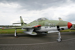 #4965 German Air Force - Republic RF-84F Thunderflash (EB-344)