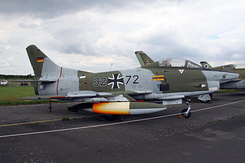 #4970 German Air Force - Fiat G.91R/3 (32+72)