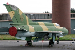 #4977 East German Air Force - Mikoyan-Gurevich MiG-21M Fishbed-J (596)