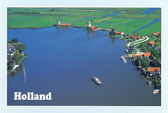#5181 Postcard NL-4149240 sent to the United States of America