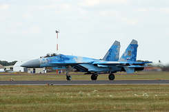 #5349 Ukrainian Air Force - Sukhoi Su-27P Flanker (58 Blue)