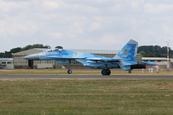 #5350 Ukrainian Air Force - Sukhoi Su-27P Flanker (58 Blue)