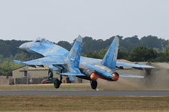 #5351 Ukrainian Air Force - Sukhoi Su-27P Flanker (58 Blue)