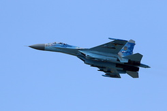 #5352 Ukrainian Air Force - Sukhoi Su-27P Flanker (58 Blue)