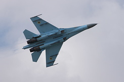 #5355 Ukrainian Air Force - Sukhoi Su-27P Flanker (58 Blue)