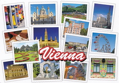 #5442 Postcard AT-419466 received from Austria