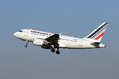 #5543 Air France - Airbus A318-111 (F-GUGP)