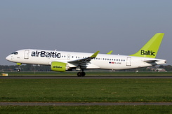 #5545 Air Baltic - Airbus A220-300 (YL-CSG)