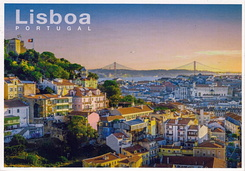 #6037 Postcard PT-655720 received from Portugal