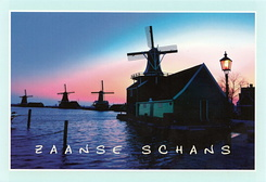 #6039 Postcard NL-4537361 sent to the United States of America