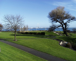#6 Blackrock Park and view on Dublin Bay