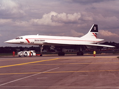 #43 British Airways - Aerospatiale-BAC Concorde 102 (G-BOAC)