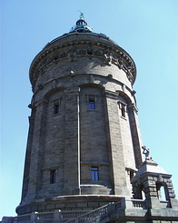 #67 Wasserturm (Water Tower) Mannheim (Germany)