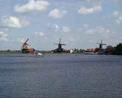 "#232 The ""Zaanse Schans"" at Zaanstad (Holland)"