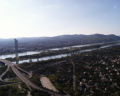 #316 View from Donauturn (Danube Tower) - Vienna (Austria)