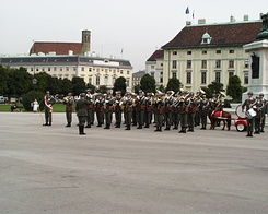 #330 Military Parade at Heldenplatz (Heroes' Square) - Vienna (Austria)