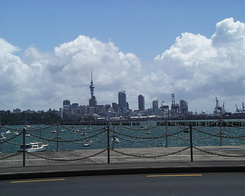#368 Auckland Skyline (New Zealand)