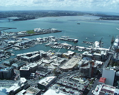 #370 View from Sky Tower - Auckland (New Zealand)