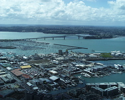 #371 View from Sky Tower - Auckland (New Zealand)