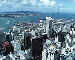 #374 View from Sky Tower - Auckland (New Zealand)