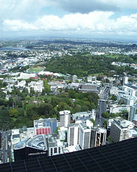 #375 View from Sky Tower - Auckland (New Zealand)