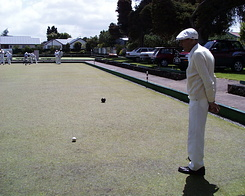#389 Uncle Playing Bowls - Auckland (New Zealand)