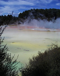 #424 Artist's Palette - Wai-O-Tapu Thermal Wonderland (New Zealand)