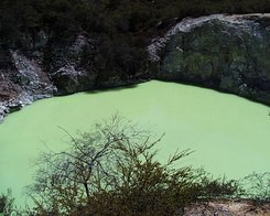 #428 Devil's Bath - Wai-O-Tapu Thermal Wonderland (New Zealand)