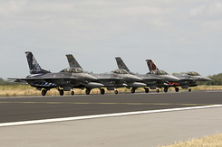 #534 Turkish Air Force - Lockheed Martin F-16 Fighting Falcon (line-up)