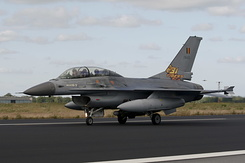 #604 Belgian Air Component - General Dynamics F-16BM (FB-23)