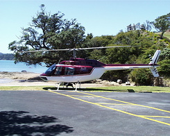 #634 Salt Air Bell 206B JetRanger (ZK-HBC) - Paihia (New Zealand)