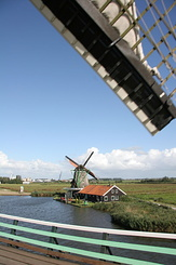#913 Oil Mill De Zoeker (The Seeker) - Zaanse Schans (Holland)