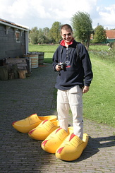 #921 Matthijs with his Wooden Shoes - Zaanse Schans (Holland)