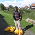 #922 Randy with his Wooden Shoes - Zaanse Schans (Holland)