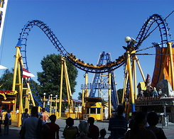 #985 The BOOMERANG at the Prater - Vienna (Austria)