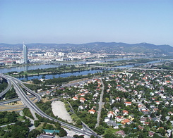 #993 View from Donauturn (Danube Tower) - Vienna (Austria)