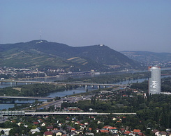 #995 View from Donauturn (Danube Tower) - Vienna (Austria)