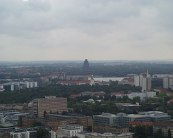 #999 View from City-Hochhaus (UNI) - Leipzig (Germany)