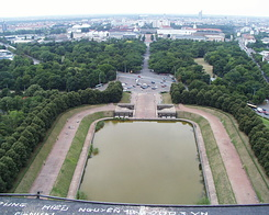 #1008 View from Monument to the Battle of the Nations - Leipzig (Germany)